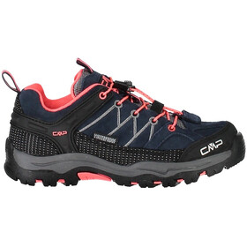 CMP Campagnolo Junior Rigel Low WP Trekking Shoes Antracite-Red Fluo